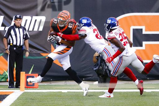 Giants Bengals Football