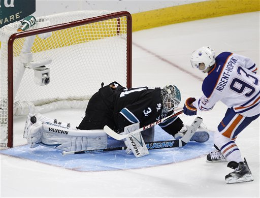 Antti Niemi, Ryan Nugent-Hopkins 