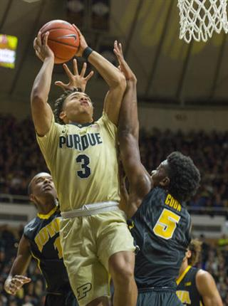 Carsen Edwards, Tyler Cook
