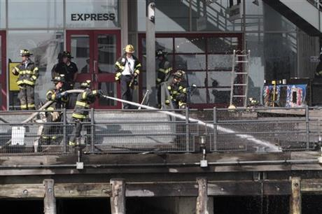 Seaport Fire