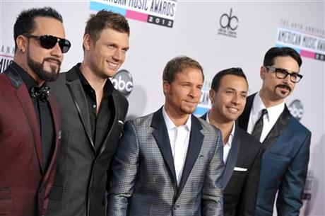 A.J. McLean, Howie Dorough, Brian Littrell, Nick Carter,Kevin Richardson