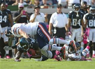 Justin Blackmon, Brian Urlacher, Major Wright