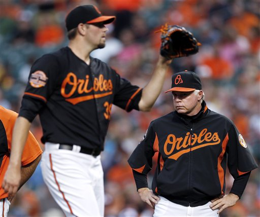 Buck Showalter, Jason Hammel