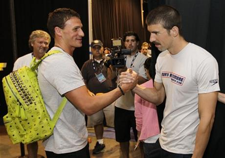 Ryan Lochte, Michael Phelps