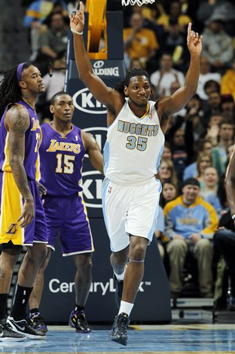 Metta World Peace, Jordan HIll, Kenneth Faried