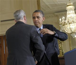 Barack Obama, Denis McDonough, Jack Lew