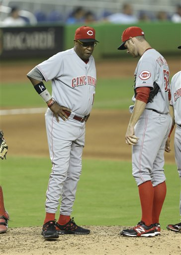 Dusty Baker, Tony Cingrani
