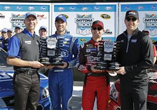 Jeff Gordon, Jimmie Johnson, Chad Knaus, Alan Gustafson