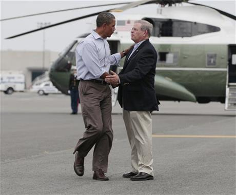 Barack Obama, Robert Menendez