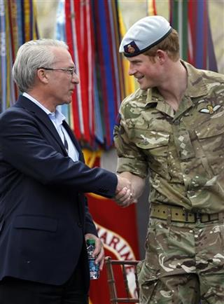 Prince Harry, Robin Lineberger