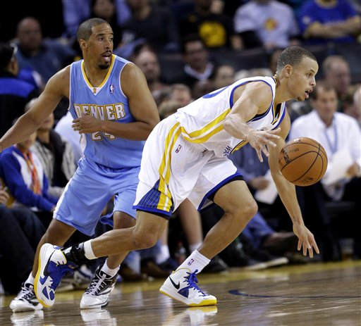 Stephen Curry, Andre Miller
