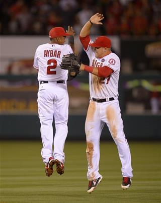 Erick Aybar, Mike Trout
