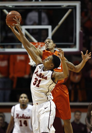 Clemson Virginia Tech Basketball