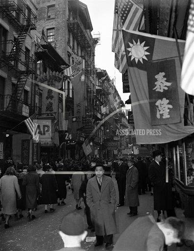 Watchf AP A  NY USA APHSL42589 New York Chinese New Year Day