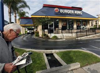 Earns Burger King