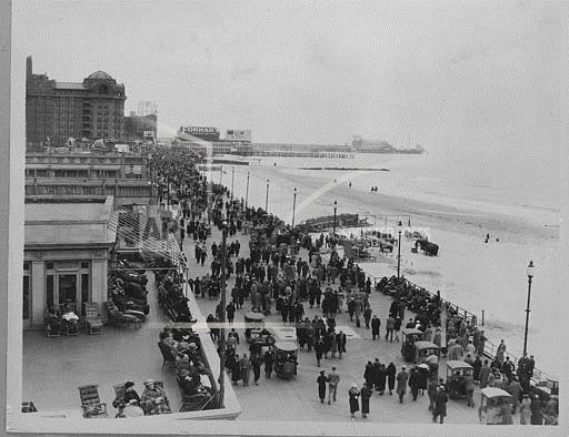 Watchf Associated Press Domestic News  New Jersey United States APHS54531 ATLANTIC CITY EASTER 1934