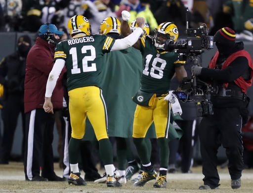 Aaron Rodgers, Randall Cobb