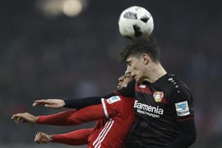 Germany Soccer Bundesliga Havertz