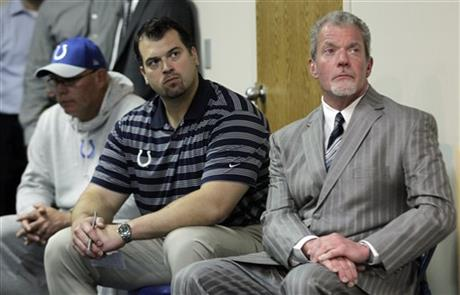 Jim Irsay, Ryan Grigson, Bruce Arians