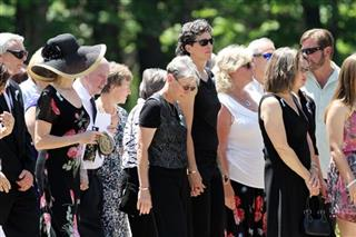 School Shooting Mother's Funeral