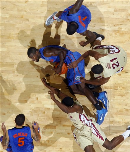 Patric Young, Michael Snaer, Scottie Wilbekin, Kenny Boynton