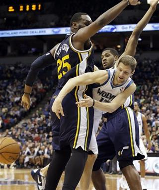 Al Jefferson, Derrick Favors, Luke Ridnour