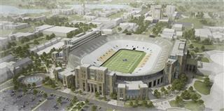 Notre Dame Stadium Football
