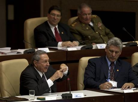 Miguel Diaz-Canel, Raul Castro