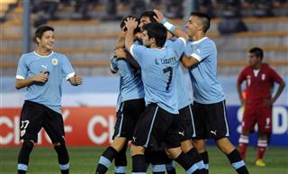 Argentina Under-17 Soccer Uruguay Peru