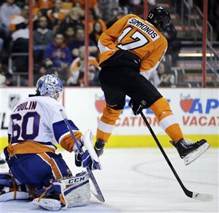 Wayne Simmonds, Kevin Poulin