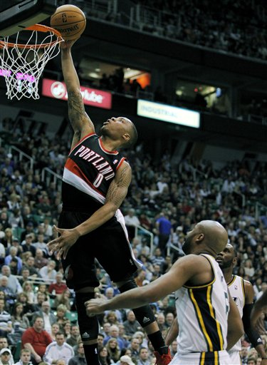 Damian Lillard, Jamaal Tinsley 