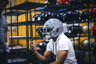 New Helmet Football
