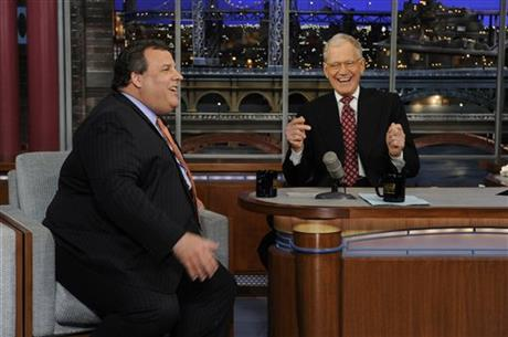 Chris Christie, David Letterman
