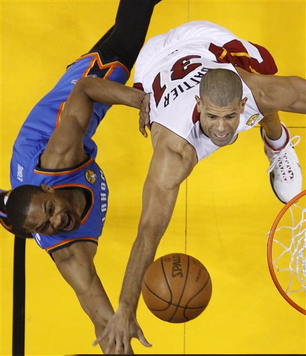 Russell Westbrook, Shane Battier