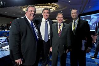 Mehmet Oz, Chris Christie, Martin O&#039;Malley, Gary Herbert