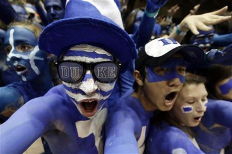APTOPIX North Carolina Duke Basketball