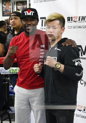 Mayweather Vs. Nasukawa Media Day