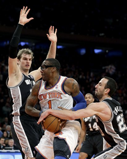 Mamu Ginobili, Amare Stoudemire