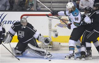 Jonathan Quick, Brent Burns