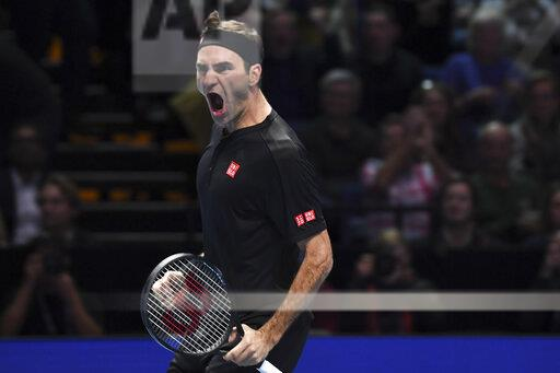 APTOPIX Britain Tennis ATP Finals