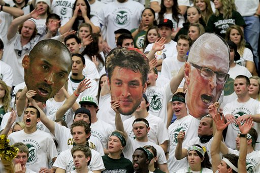 Kobe Bryant, Tim Tebow, Steve Fisher