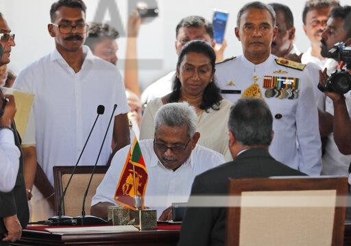 Sri Lanka New President