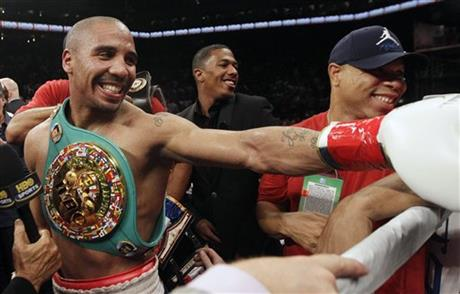 Andre Ward, Nick Cannon