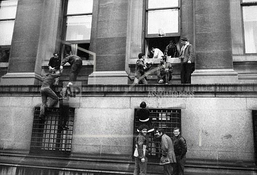 Associated Press Domestic News New York United States COLUMBIA STUDENT PROTEST