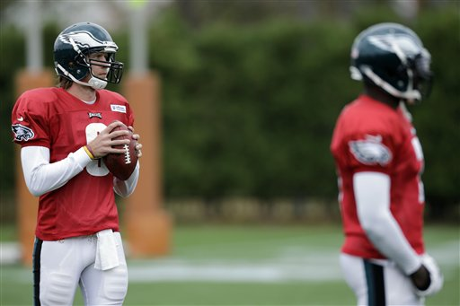 Nick Foles,  Michael Vick