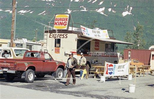 Watchf Associated Press Domestic News  Alaska United States APHS171961 Fast-Food Restaurant