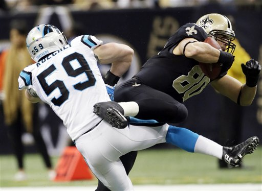 Jimmy Graham, Luke Kuechly