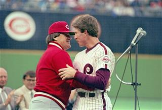 Mike Schmidt, Pete Rose