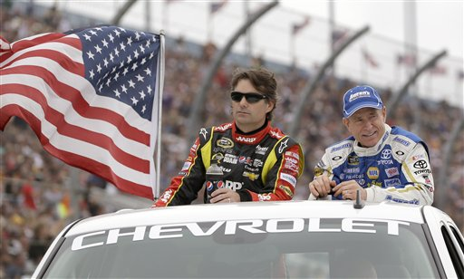 Jeff Gordon, Mark Martin