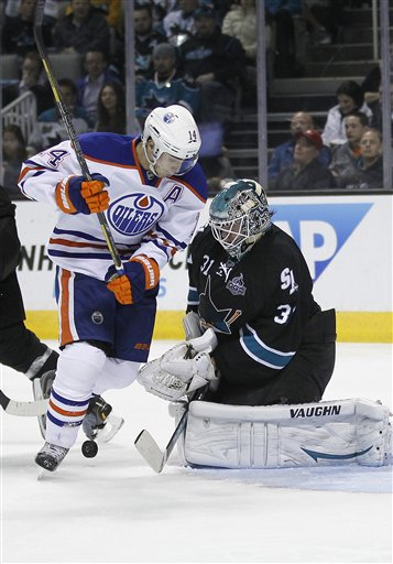 Antti Niemi, Jordan Eberle